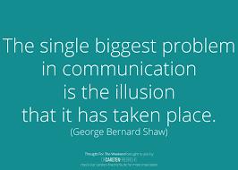 Biggest Problem In Communication Dr Carsten Friedrichs