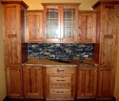 Douglas Fir Kitchen Cabinets Traditional Rustic Kitchen Cabinet Decor Ideas Feats Luminous