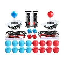 Easyget 2-Player DIY Arcade Kit USB to Joystick ... - Amazon.com