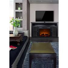 d eacute cor flame monarch 56 a fireplace for tvs up to 65 black com