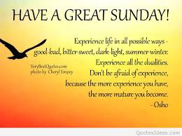have a great sunday quote with card