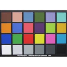 X Rite Colorchecker Classic Chart