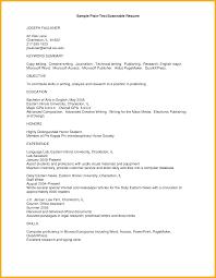 8 Plain Text Resume Bursary Cover Letter