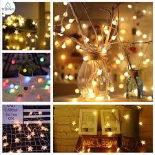 Dây đèn LED dài 3 mét dạng bóng tròn màu vàng để trang trí đám cưới, giá  chỉ 26,778đ! Mua ngay kẻo hết!