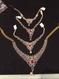 diamond necklace designs in india awesome diamond necklace collections south india jewels