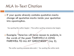 Mla Long Quote Enchanting Mla Long Quote Mla Formatting And Citation Ppt Video Online Download
