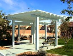 free standing patio cover. DOES Free Standing Patio Cover V
