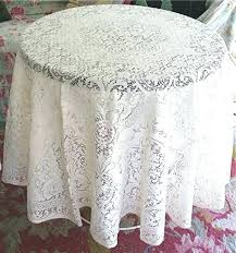 round cotton tablecloth white great lace style inside plan fabric india round cotton tablecloth