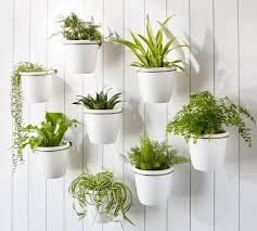 athens wall planter white