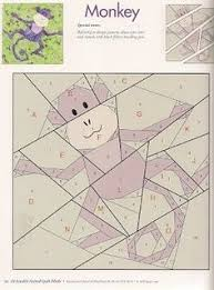 Butterfly Charm Blocks | Free Paper Piecing Pattern by lillyella ... & Monkey paper piecing quilt patterns animals | Lots of Paper Piecing  Patterns for Animals Adamdwight.com