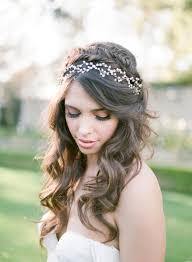 down wedding hair. 20 Stunning and Pretty Half Up Half Down Wedding Hairstyles VIs Wed