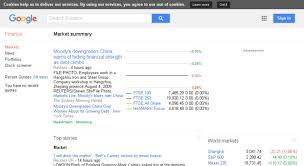 Google Finance Stock Quotes Enchanting Google Finance Stock Market Quotes Glamorous Access Financegoogle