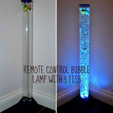 Water Lamps Water Lamp With Fish Inside Colour Changing Led Novelty Aquarium