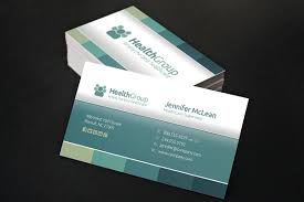 Inspiring New Business Card Design Trends For Healthcare Providers