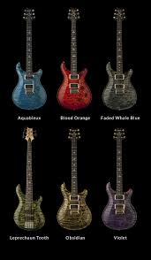 Prs Guitars Adds Six New Color Options For 2014