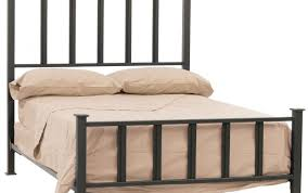 Appealing Vintage Wrought Iron Bed Frame Queen Platform Menards ...