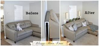 Decorate Sofa Table Behind Couch Decorate Sofa Table Behind Couch S