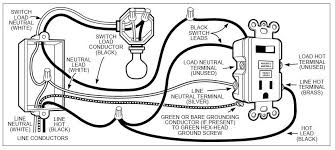 combination switch outlet wiring diagram wiring diagram leviton gfi receptacle wiring diagram schematics and wiring diagrams
