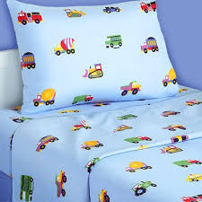 kid twin sheet set boys flannel sheets planes and trucks twin flannel sheet set