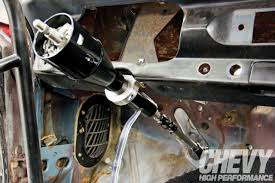 1963 chevy nova steering upgrade tighter turns chevy high flaming river steering column bolted to