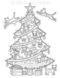 691 Best Christmas To Color Images In 2019 Coloring Pages