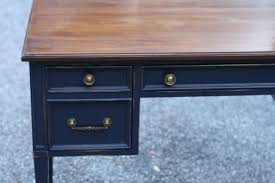 navy blue desk. Coastal Blue Desk- Java Gel Top Navy Desk E