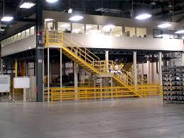 warehouse mezzanine modular office. Steel Mezzanine Work Platforms Warehouse Modular Office A