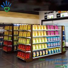 retail display rack grocery gondola shelving supermarket shelf