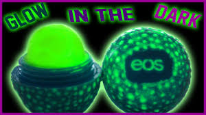 diy glow in the dark eos lip balm easy non toxic perfect for parties you