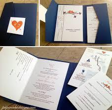 Diy Wedding Invitation Designs Diy Print Assemble Wedding Invitations Papercake