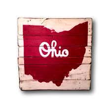 Ohio State Bedroom Ohio State Decor Etsy