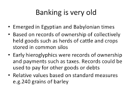 ecological economics session money and banking