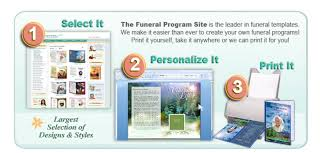 How To Make A Funeral Program Funeral Program Templates Diy The Funeral Program Site