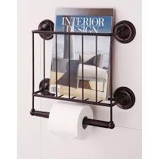 Toilet Paper Holder With Magazine Rack Estate Oil Rubbed Bronze Magazine Rack Toilet Paper Holder Free 6
