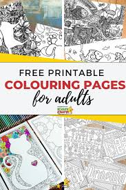 The genius is in all of us, so when enhancing your creativity through supercoloring.com, get ready for a marvelous change: Free Printable Colouring Pages For Adults Kiddycharts