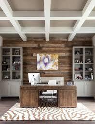 barnwood wall ideas office accent wall ideas home office transitional with beamed ceiling desk chair wall art barnwood wall decor ideas