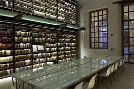 library lighting. The Castro Leal Library In Mexico City Lighting