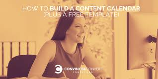 Interactive Calendar Template How To Build A Content Calendar Plus A Free Template