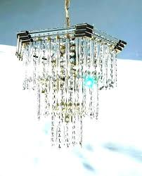 decoration battery operated chandelier with remote wireless crystal hanging pendant lights big lots