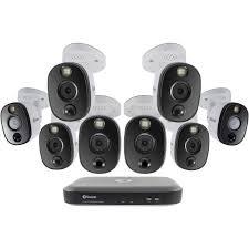 Swann Hdd Light Not On Swann 8 Channel 4k Uhd Dvr With 2tb Hdd 8 4k Spotlight Night Vision Bullet Cameras