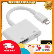 Cáp Chuyển Đổi Lightning Sang Hdmi Kỹ Thuật Số Av Tv Cho Apple Iphone 6 7 8  Plus Ipad tại TP. Hồ Chí Minh