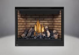 phazer log set decorative sandstone brick panels standard safety screen