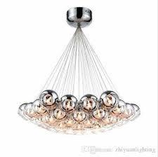 modern led glass chandeliers led pendant lighting chrome glass chandeliers lighting g4 hanging chandelier lamp fixture bedroom hanging lights ceiling