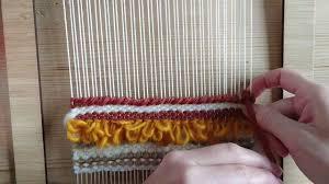Weaving Loom Patterns Mesmerizing Loom Weaving Tutorial For Beginners The Soumak Technique 48 YouTube