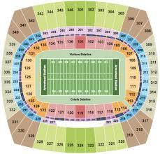 U2 Seating Chart Las Vegas Arrowhead Stadium Tickets Arrowhead Stadium In Kansas City