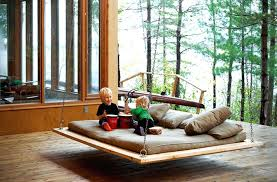 hanging bed swing plans swing bed ideas to enjoy floating in mid air diy hanging porch hanging bed swing