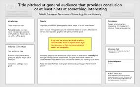 How To Make Poster Presentation In Chart Designing Conference Posters Colin Purrington