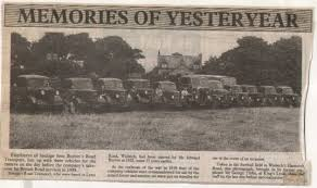 Newspaper cutting recalling the haulage firm Burton's Road Transport of  Lynn Road, Wisbech, including a photograph taken in 1949 | Cars, Groups,  Historic, Male | Wisbech