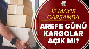 Bugün kargolar açık mı? 12 Mayıs Çarşamba Arefe günü MNG, Yurtiçi, Sürat,  Aras, PTT Kargo açık mı, kapalı mı?