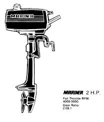 Mercury Mariner 2b 6a1 000101 And Up Prop Chart